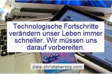 Neue Technologien verändern unsere Zukunft rigoros